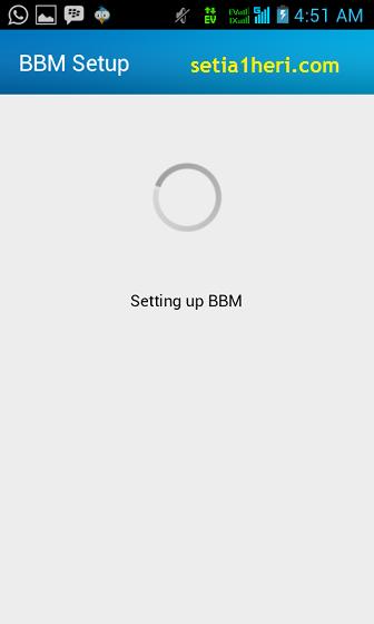 proses aktivasi BBM android