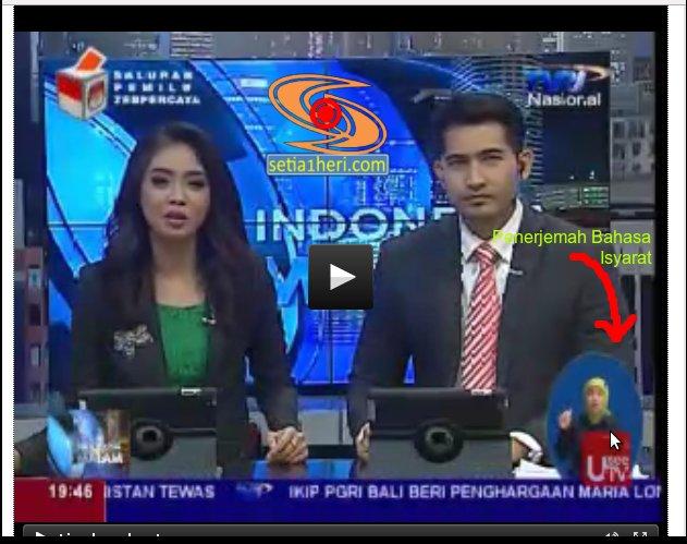 Perlunya penerjemah bahasa isyarat dalam berita ...