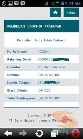 BNI Internet Banking versi mobile atau gadget (7)