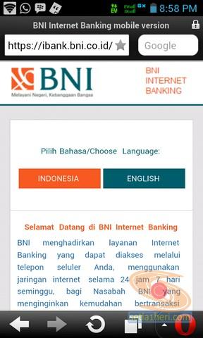 BNI Internet Banking versi mobile atau gadget (8)