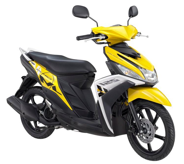 New Mio M3 125 Trending Yellow - Hero Bike