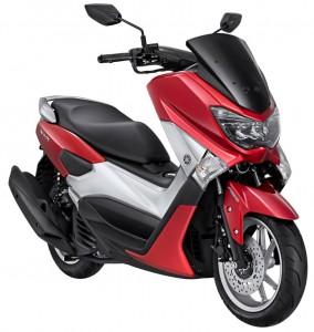 NMAX Red Metallic untuk konsumen Urban Active