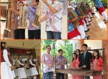 Pasanggiri Angklung Sekolah Satu Hati tahun 2015