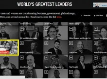 Tri Rismaharini is worlds greatest leaders 2015