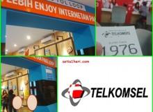 grapari telkomsel di kota surabaya tahun 2015
