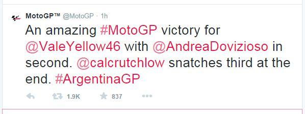 moto GP Argentina 2015