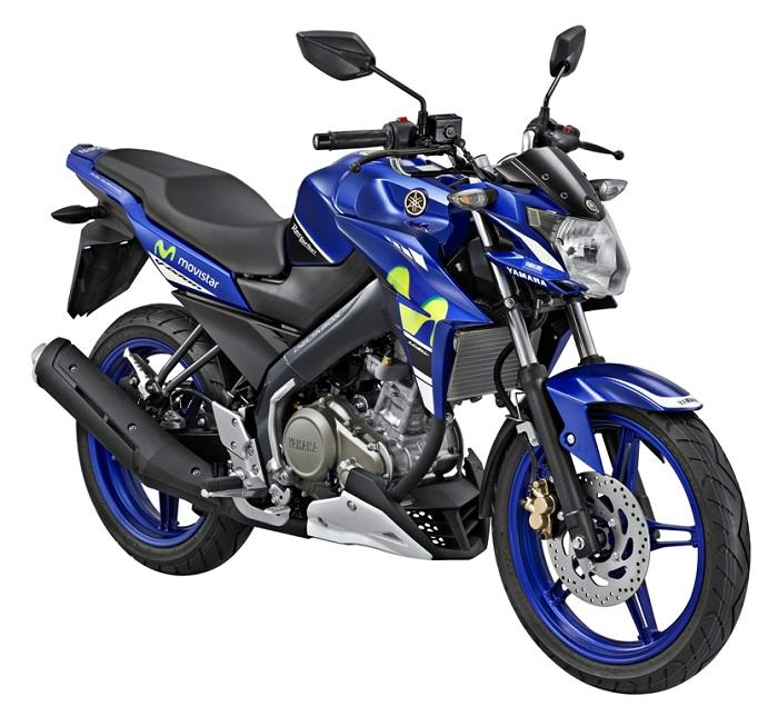 New V-Ixion Advance livery Movistar Yamaha MotoGP tahun 2015
