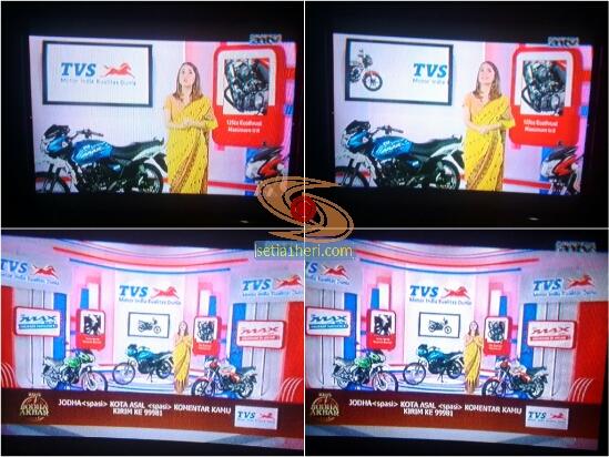 iklan motor TVS di sinetron india Jodha Akbar tahun 2015