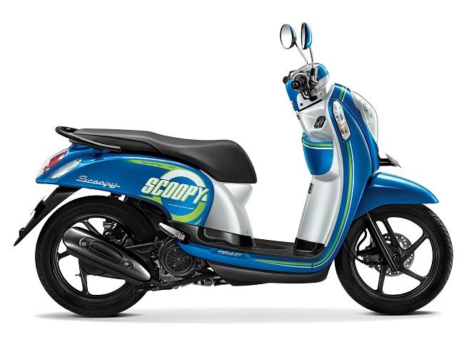 Scoopy eSP Sporty Urban Blue tahun 2015