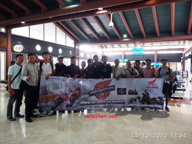 rombongan pemenang honda sport motoshow goes to sepang tahun 2015