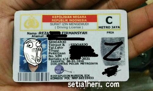 KTP Sidoarjo perpanjangan SIM Online di Jakarta tahun 2016