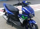 Modifikasi Aerox 125LC Movistar Yamaha MotoGP