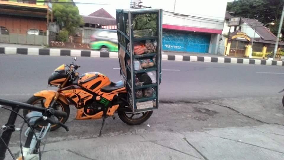 motor sport keren tukang sayur dan tukang siomay di Indonesia tahun 2016~01
