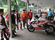pembalap honda AHRT berlatih intensif di sirkuit sentul 3 februari 2016 (1)