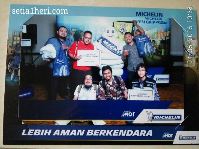 Michelin City Grip Pro dilaunching di Kota Surabaya tanggal 03 Juni 2016 di Hotel Shangri-La ~03