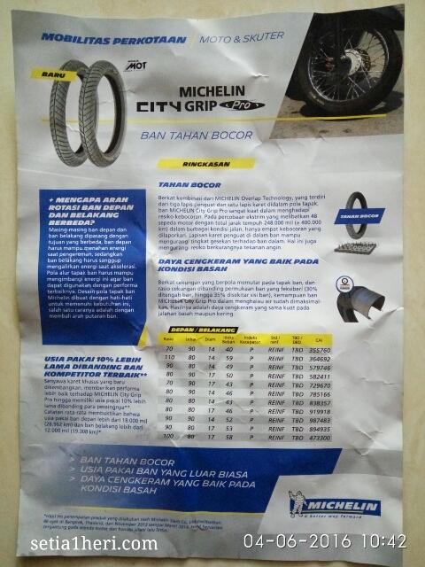 Michelin City Grip Pro dilaunching di Kota Surabaya tanggal 03 Juni 2016 di Hotel Shangri-La ~04