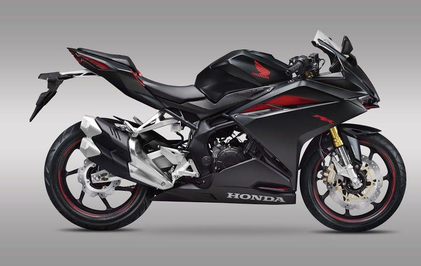 All New Honda CBR250RR tahun 2016 warna hitam