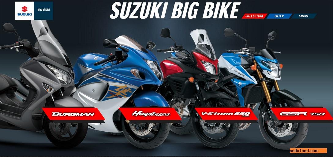 Daftar harga motor big bike suzuki tahun 2016