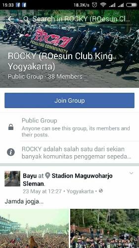 Facebook Roeson RX King Jogjakarta aliaa Rocky