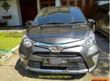 Toyota calya tipe g AT warna grey atau abu2 metallik