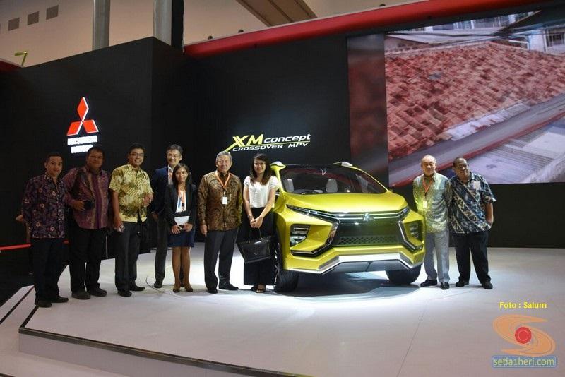 mobil konsep mitsubishi XM concept 2016 diperkenalkan di GIIAS tahun 2016 (7)