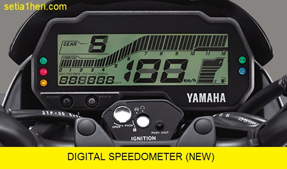 Speedometer All New Vixion Facelift Tahun 2017