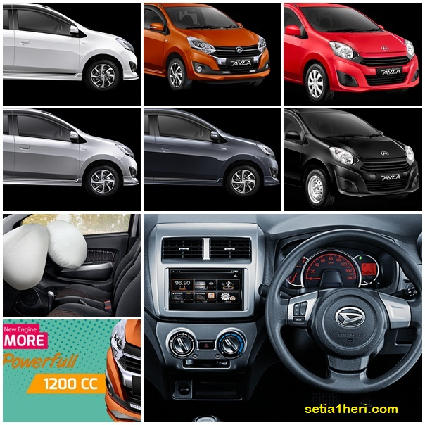 Warna Pilihan Daihatsu Ayla Tahun 2017 Setia1heri