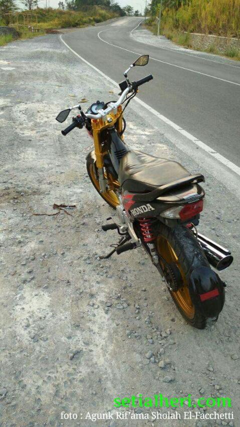 Keren Modifikasi Honda Supra X 125 Versi Ayagohehehe