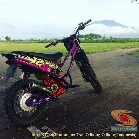Kumpulan Gambar Motor Trail Basis Motor Matic Alias Trail Matic 10