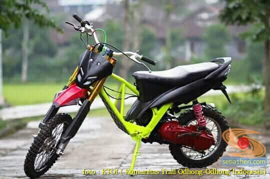 Kumpulan Gambar Motor Trail Basis Motor Matic Alias Trail Matic 19