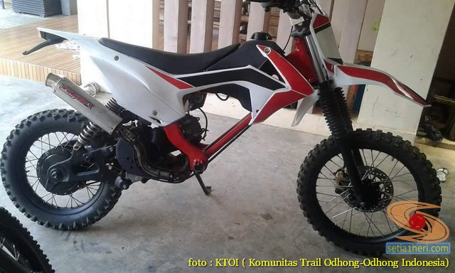 Kumpulan Gambar Motor Trail Basis Motor Matic Alias Trail Matic 20