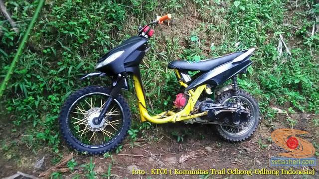Kumpulan Gambar Motor Trail Basis Motor Matic Alias Trail Matic 4