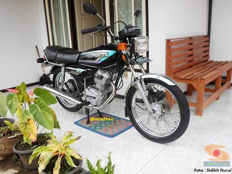 Restorasi Honda Gl 100 Lansiran 1995 Orikintil Gans Xixixixi Setia1heri Com