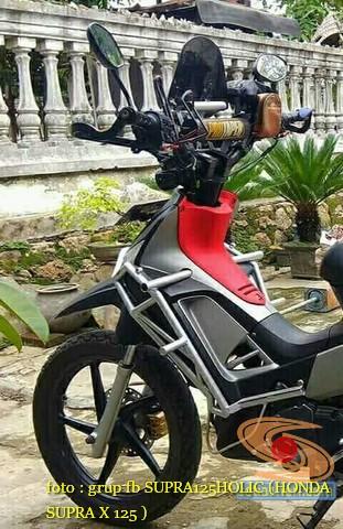 Ini Kumpulan Gambar Modifikasi Honda Supra X 125 Pakai Tubular Setia1heri Com