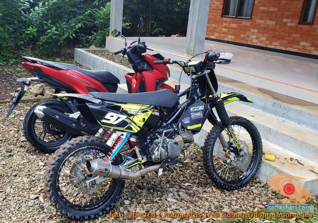 Modifikasi Trail Gtx Bebek Basis Mesin Yamaha Vega Tahun 2020 32 Setia1heri Com
